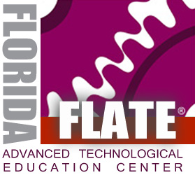 Robotics Open House, FLATE (HCC, Brandon) logo